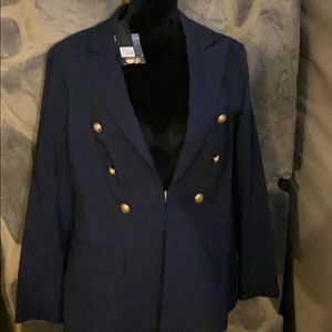 Lane Bryant navy blazer